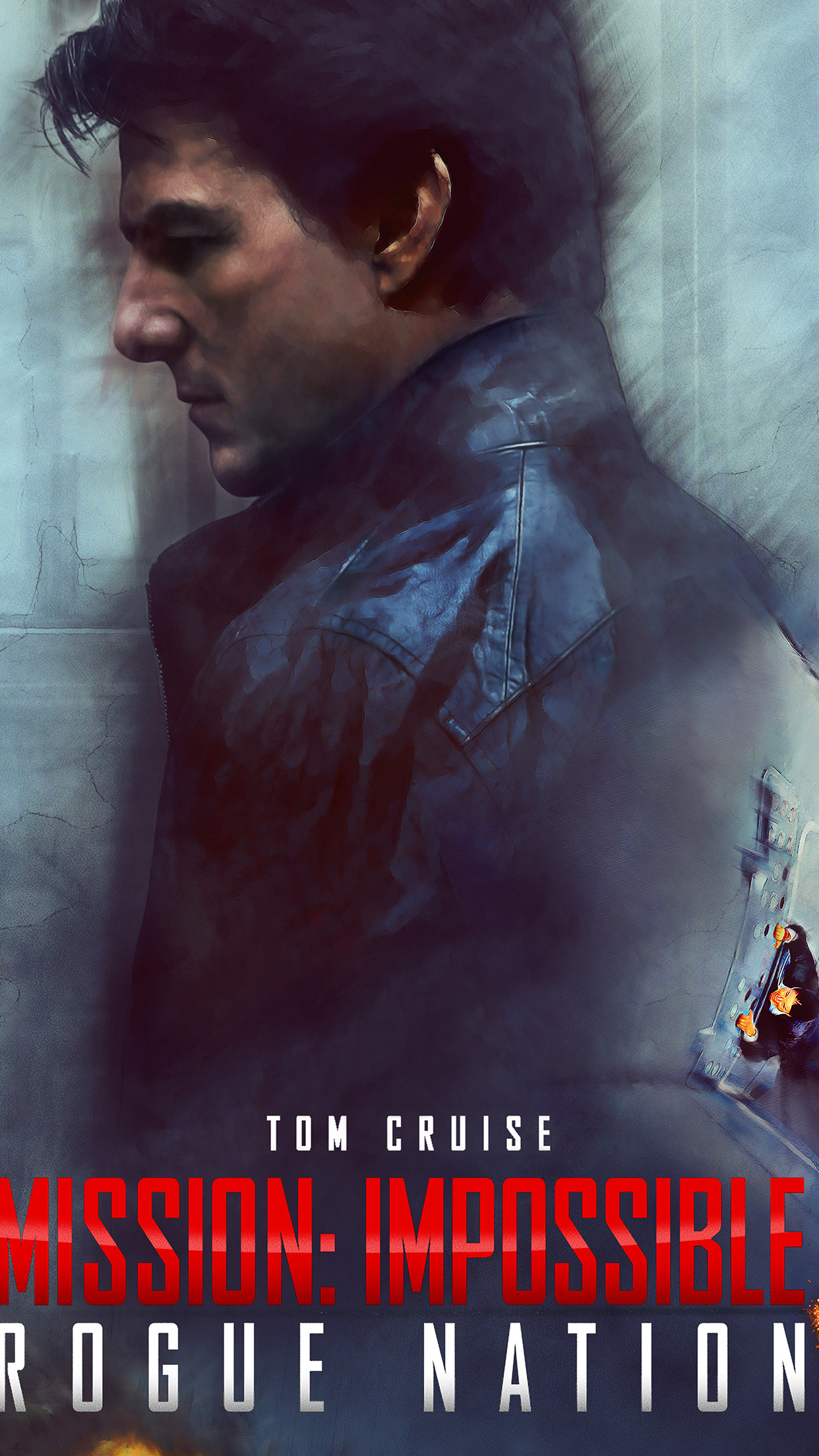 Ao35 Tom Cruise Mission Impossible Rogue Film Poster Papers Co