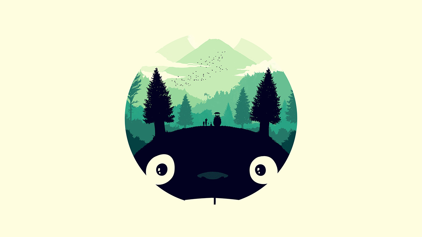 desktop-wallpaper-laptop-mac-macbook-airao36-totoro-art-illust-simple-cute-wallpaper
