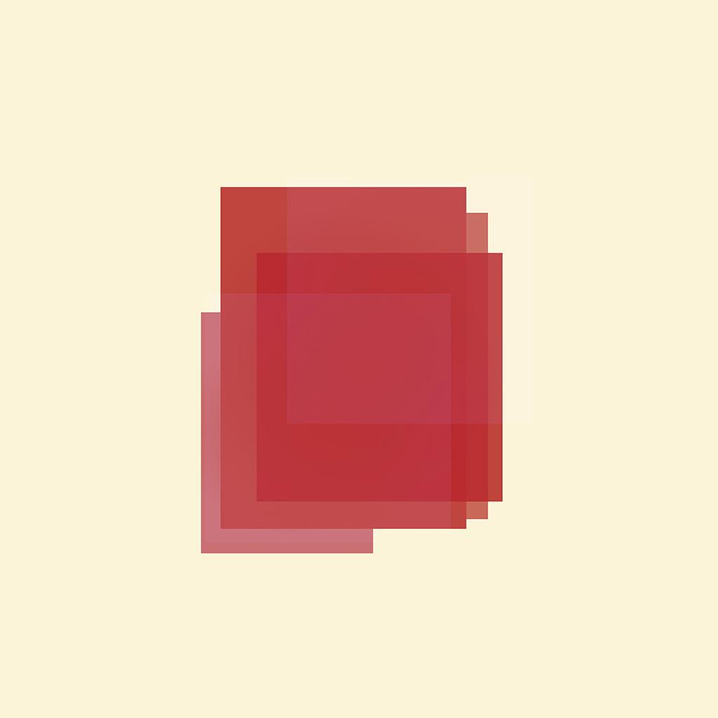 Ao39 poster red blocks art minimal simple for Minimal art essay