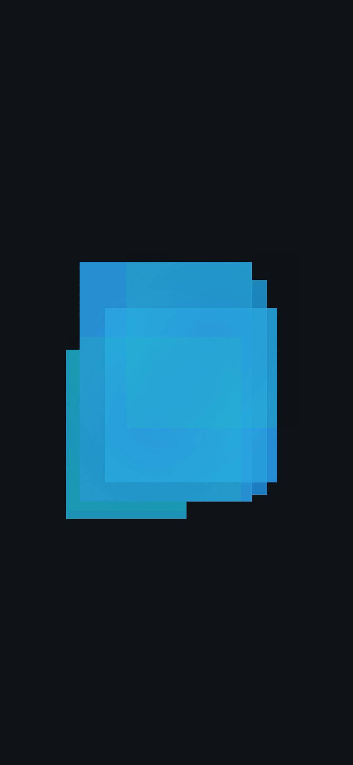 iPhoneXpapers.com-Apple-iPhone-wallpaper-ao42-poster-blue-blocks-art-minimal-simple-dark