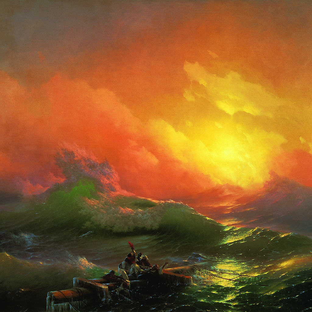 android-wallpaper-ao45-classic-the-ninth-wave-1850-art-illust-wallpaper