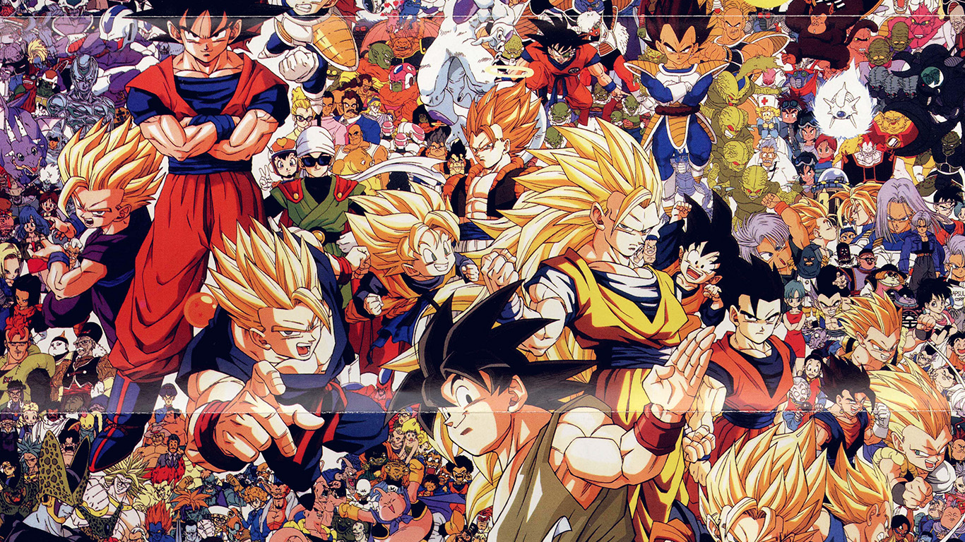Wallpaper For Desktop Laptop Ao47 Dragonball Full Art