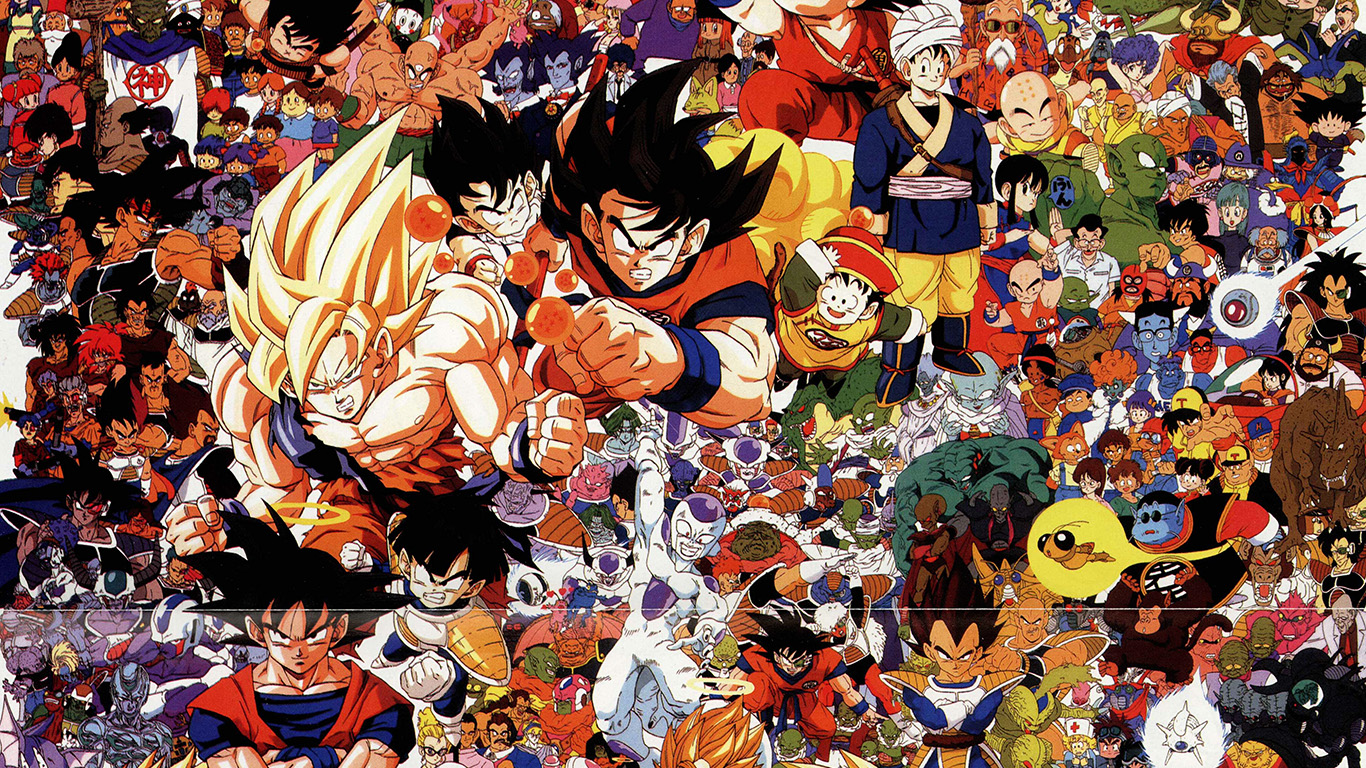 Wallpaper For Desktop Laptop Ao48 Dragonball Full Art