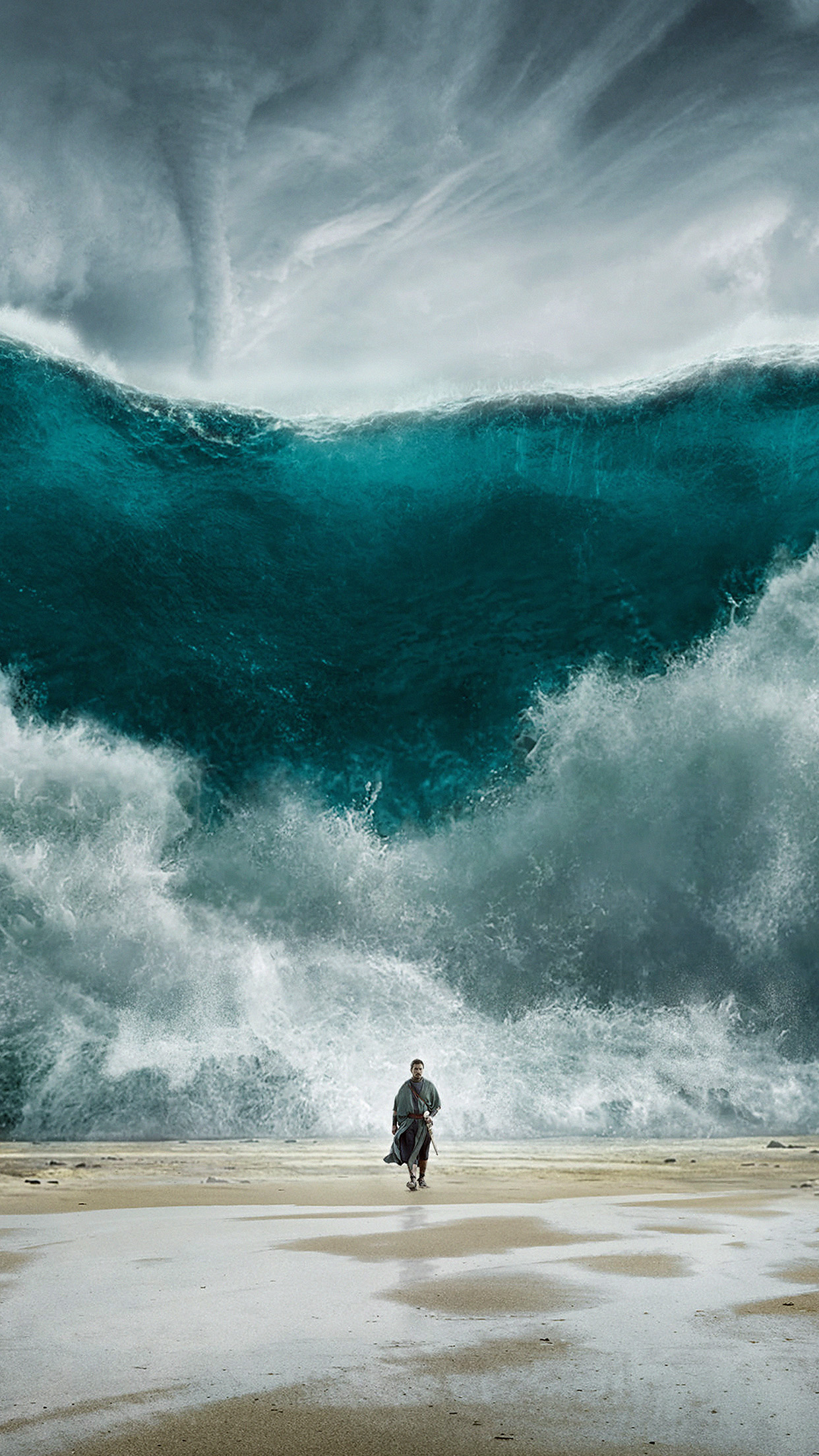 Ao52 exodus wave sea art film illust - Classic art wallpaper iphone 5 ...