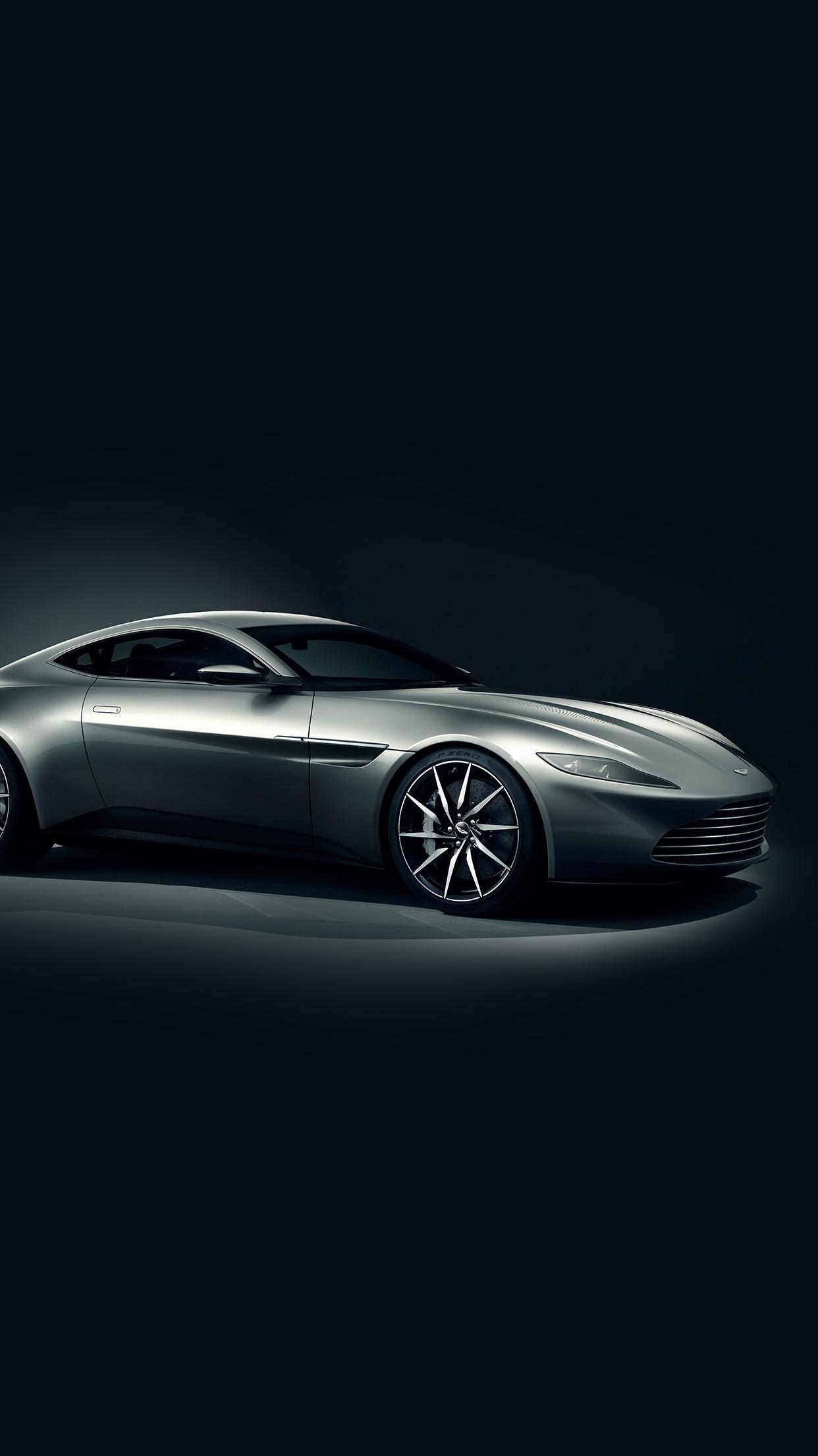 Iphonexpapers Ao57 Aston Martin Db10 Sports Car Exotic Dark