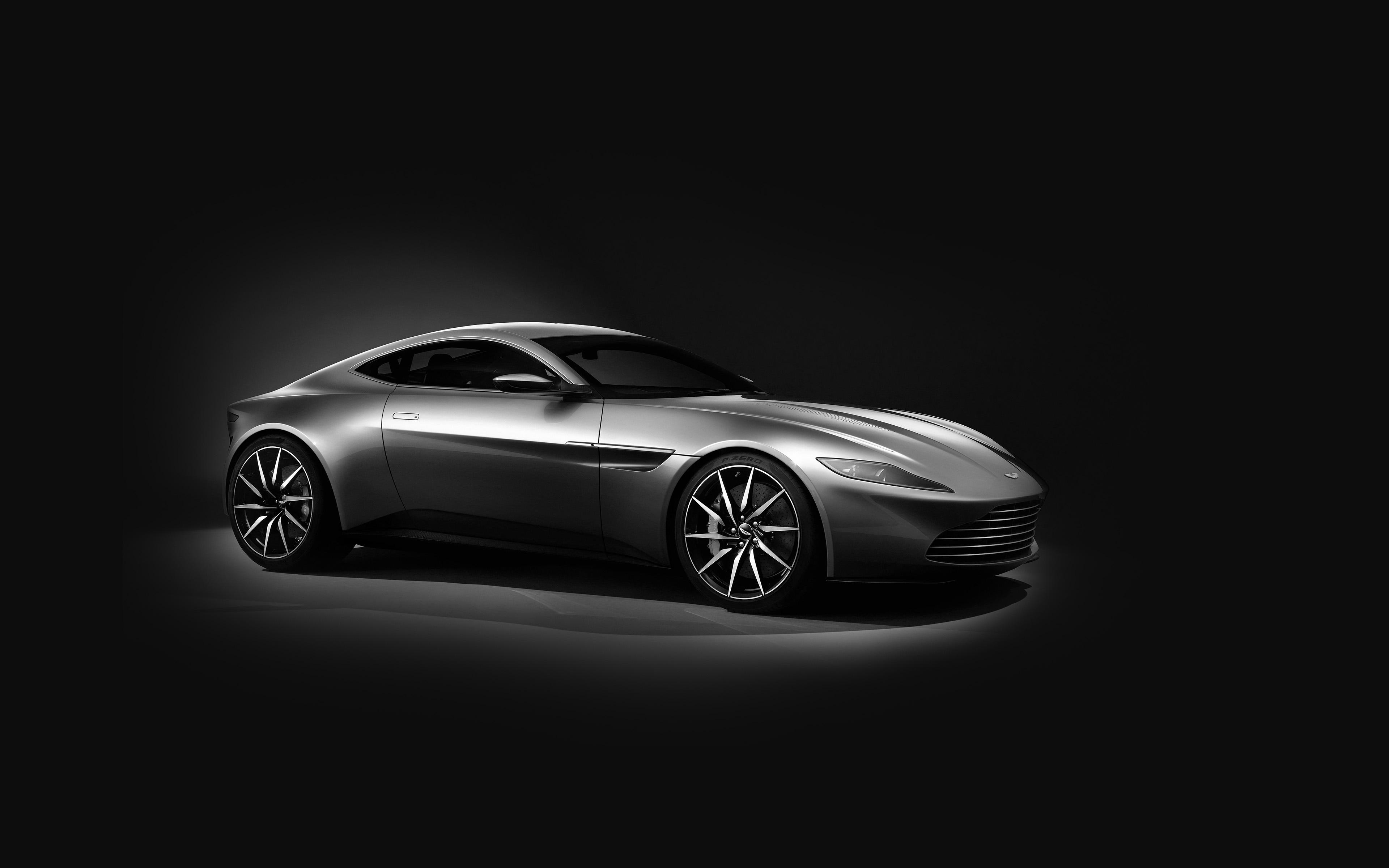 Ao58 Aston Martin Db10 Sports Car Exotic Dark Bw Wallpaper