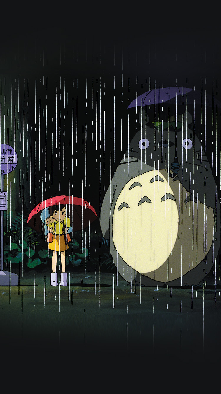 iPhone6papers.co-Apple-iPhone-6-iphone6-plus-wallpaper-ao63-my-neighbor-totoro-art-illust-rain-anime