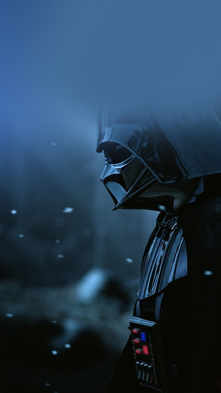 Ao69 starwars darth vader art film blue - Classic art wallpaper iphone 5 ...