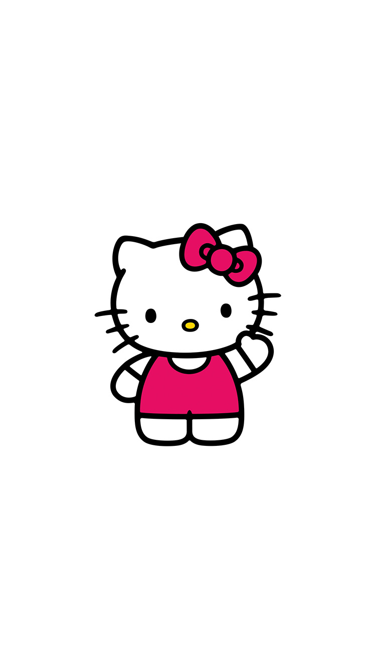 iPhonepapers.com-Apple-iPhone8-wallpaper-ao80-hello-kitty-art-cute-logo-minimal