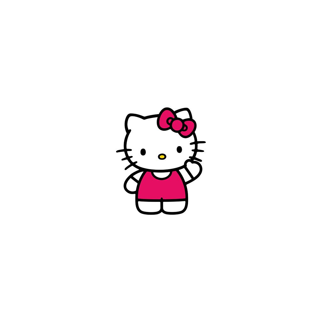 android-wallpaper-ao80-hello-kitty-art-cute-logo-minimal-wallpaper