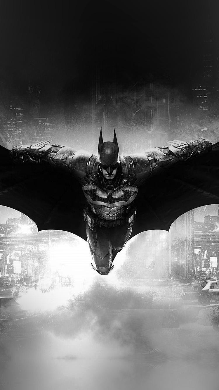 Papers.co-iPhone5-iphone6-plus-wallpaper-ao83-batman-dark-bw-game-hero-art-illust