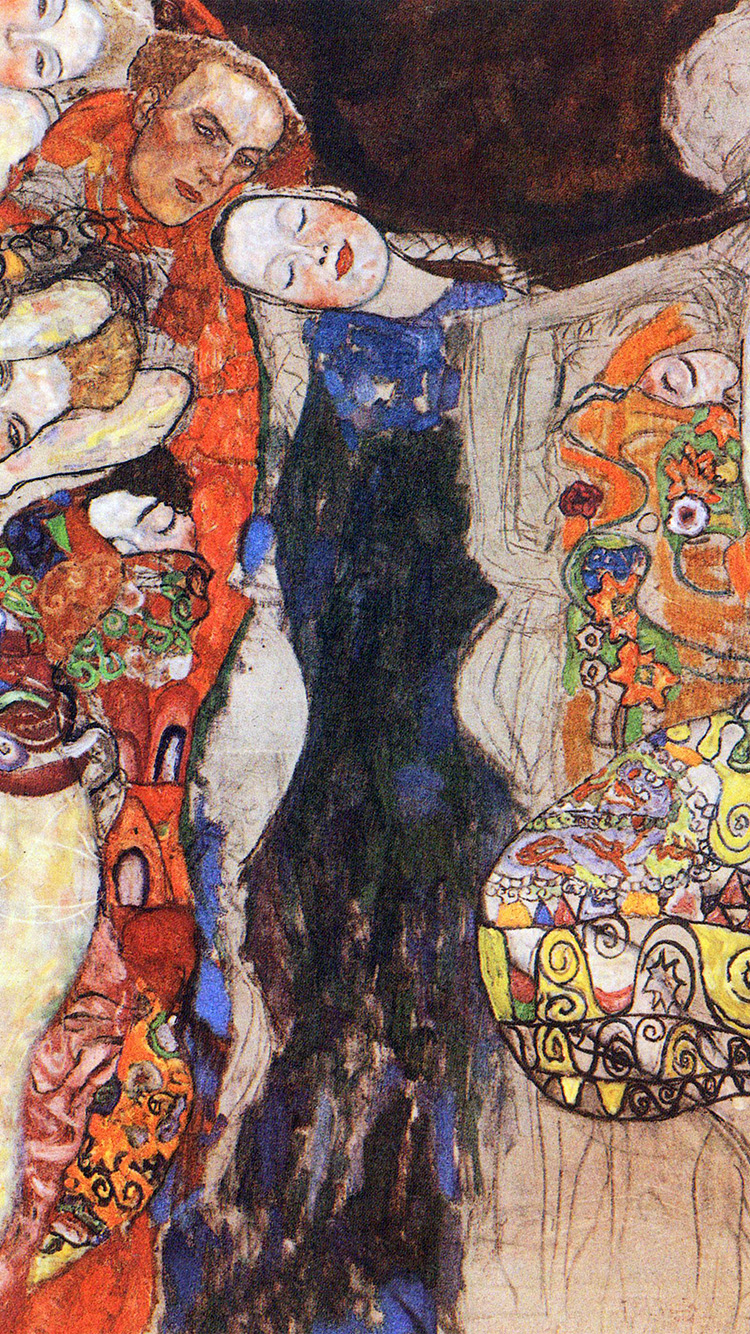 iPhone6papers.co-Apple-iPhone-6-iphone6-plus-wallpaper-ao96-gustav-klimt-paint-art-classic