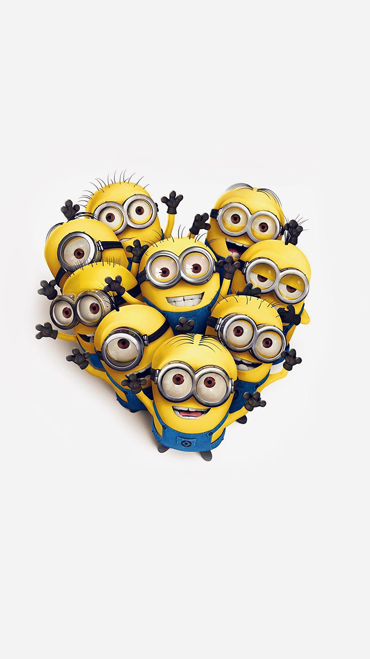 iPhonepapers.com-Apple-iPhone8-wallpaper-ap04-minions-love-heart-cute-film-anime-art