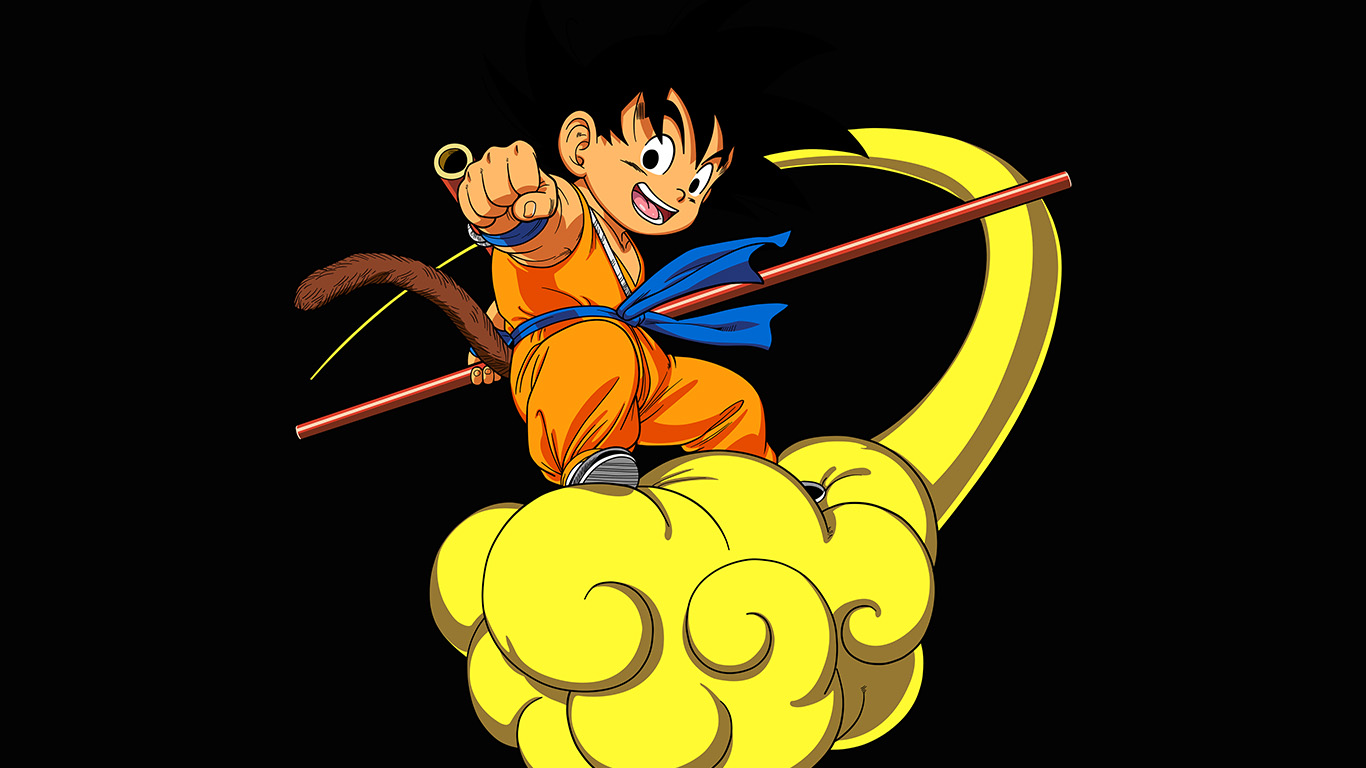 desktop-wallpaper-laptop-mac-macbook-air-ap05-dragonball-goku-cloud-fly-anime-art-illust-wallpaper