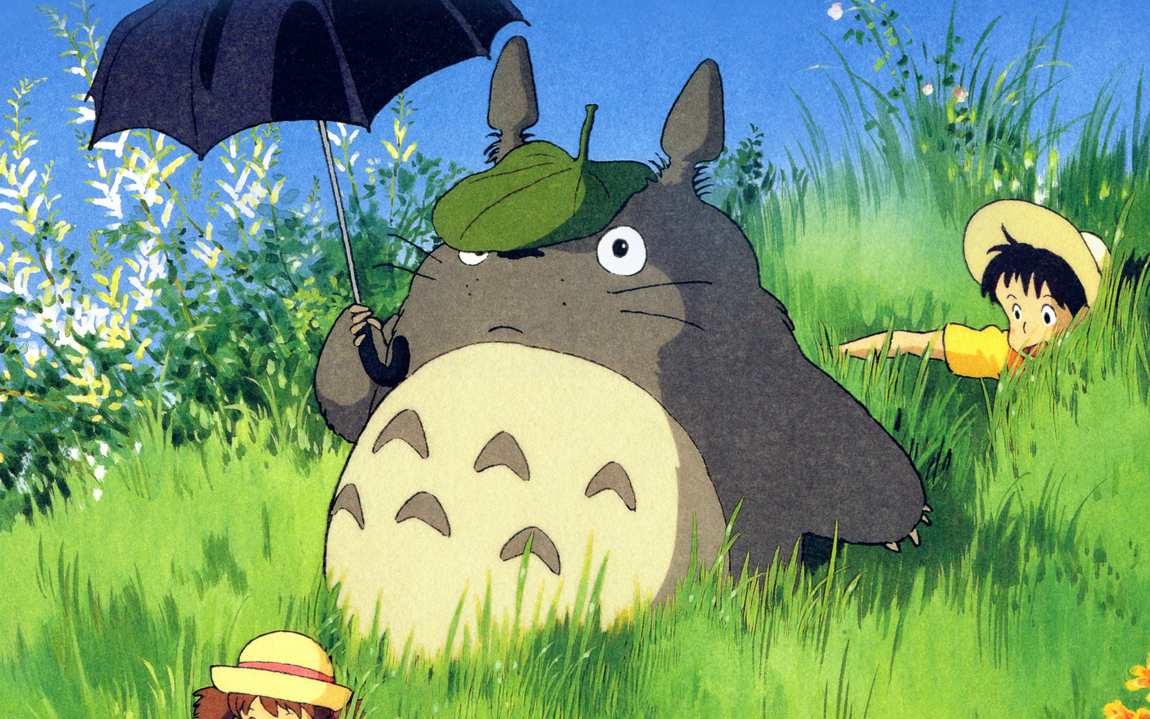 Ap13 Totoro Art Cute Anime Illustration