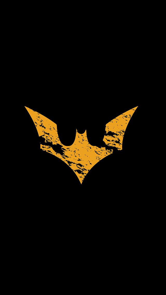 freeios8.com-iphone-4-5-6-plus-ipad-ios8-ap17-batman-logo-yellow-dark-hero-art