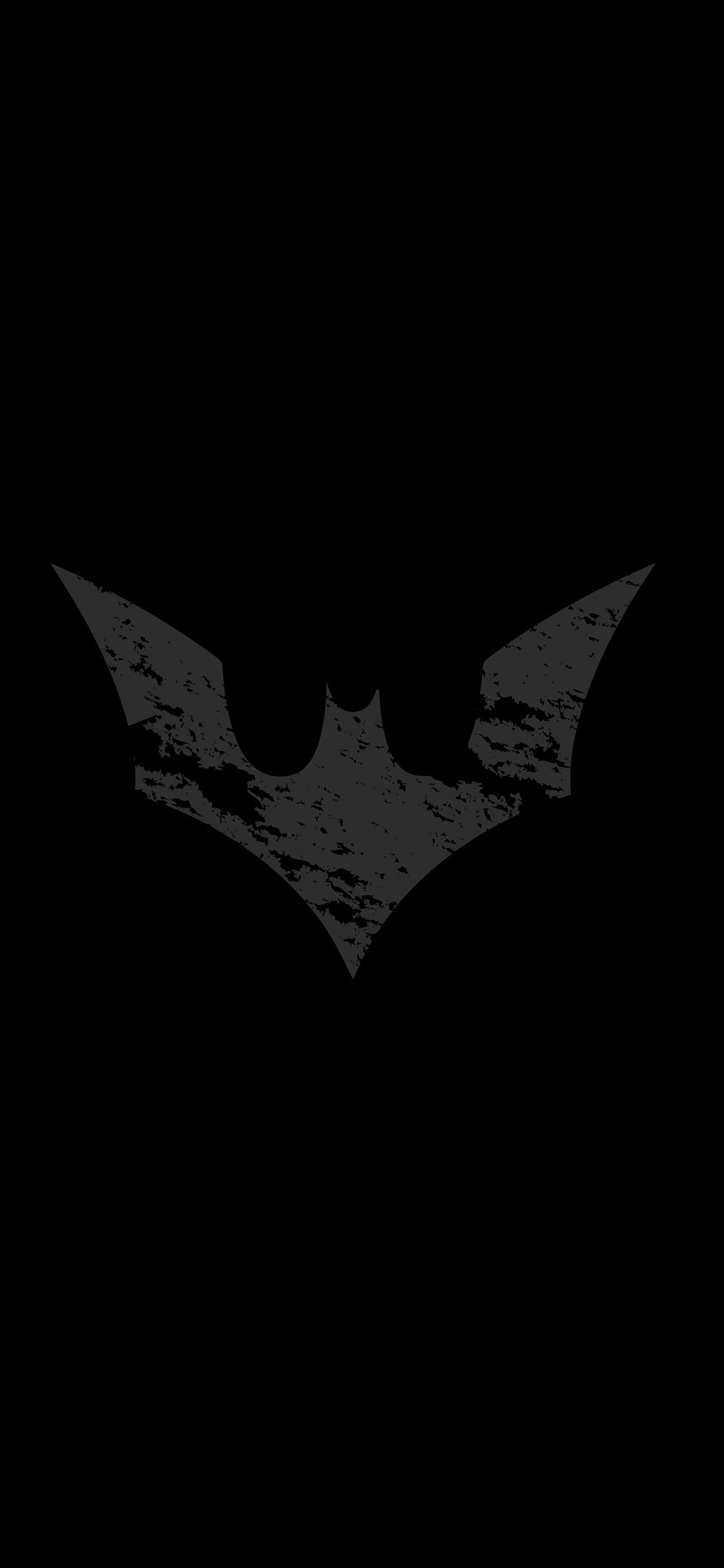 iPhoneXpapers.com-Apple-iPhone-wallpaper-ap18-batman-logo-dark-hero-art-bw