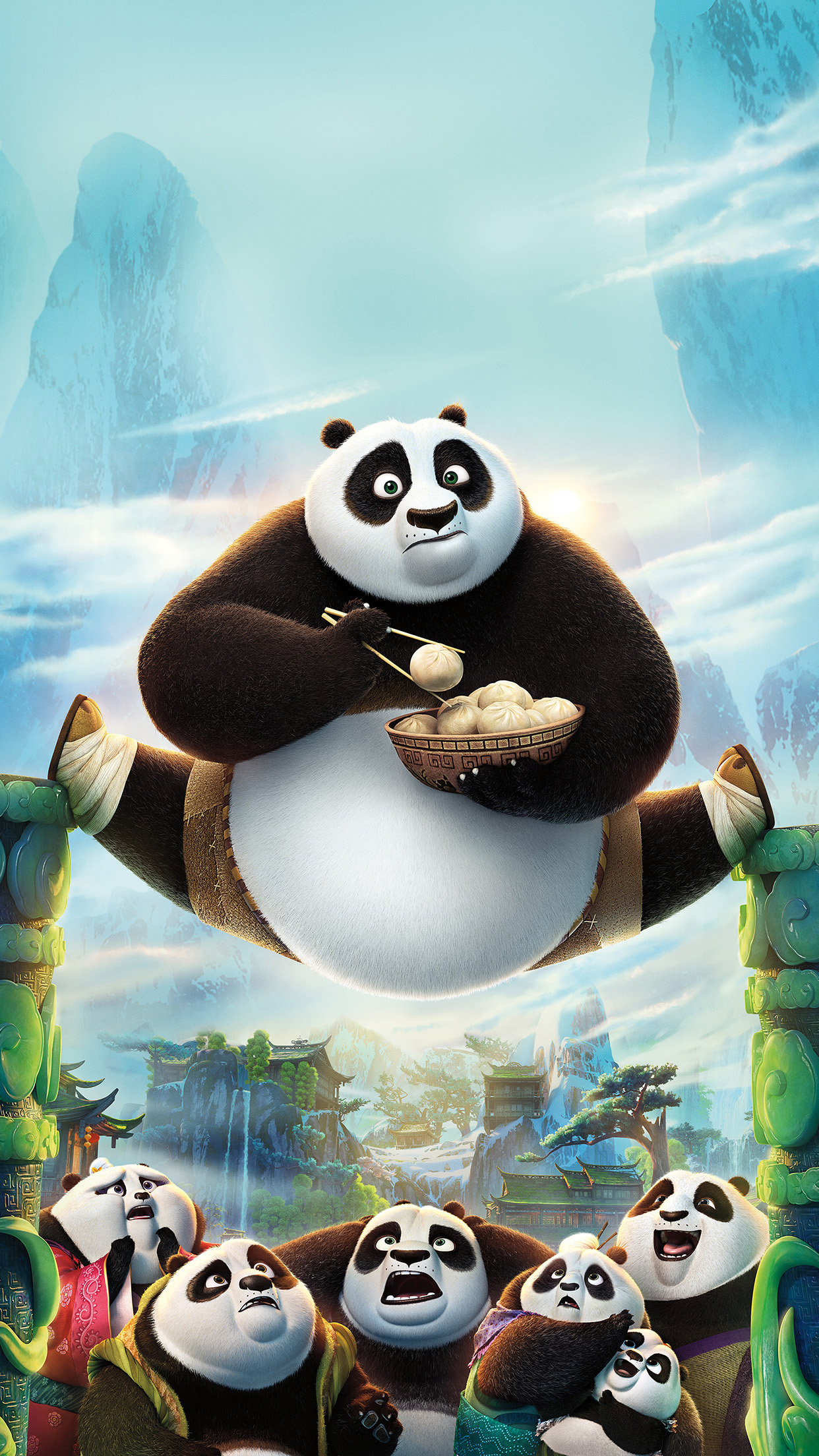 iphone7papers | iphone7 wallpaper | ap21-kungfu-panda-art-illust