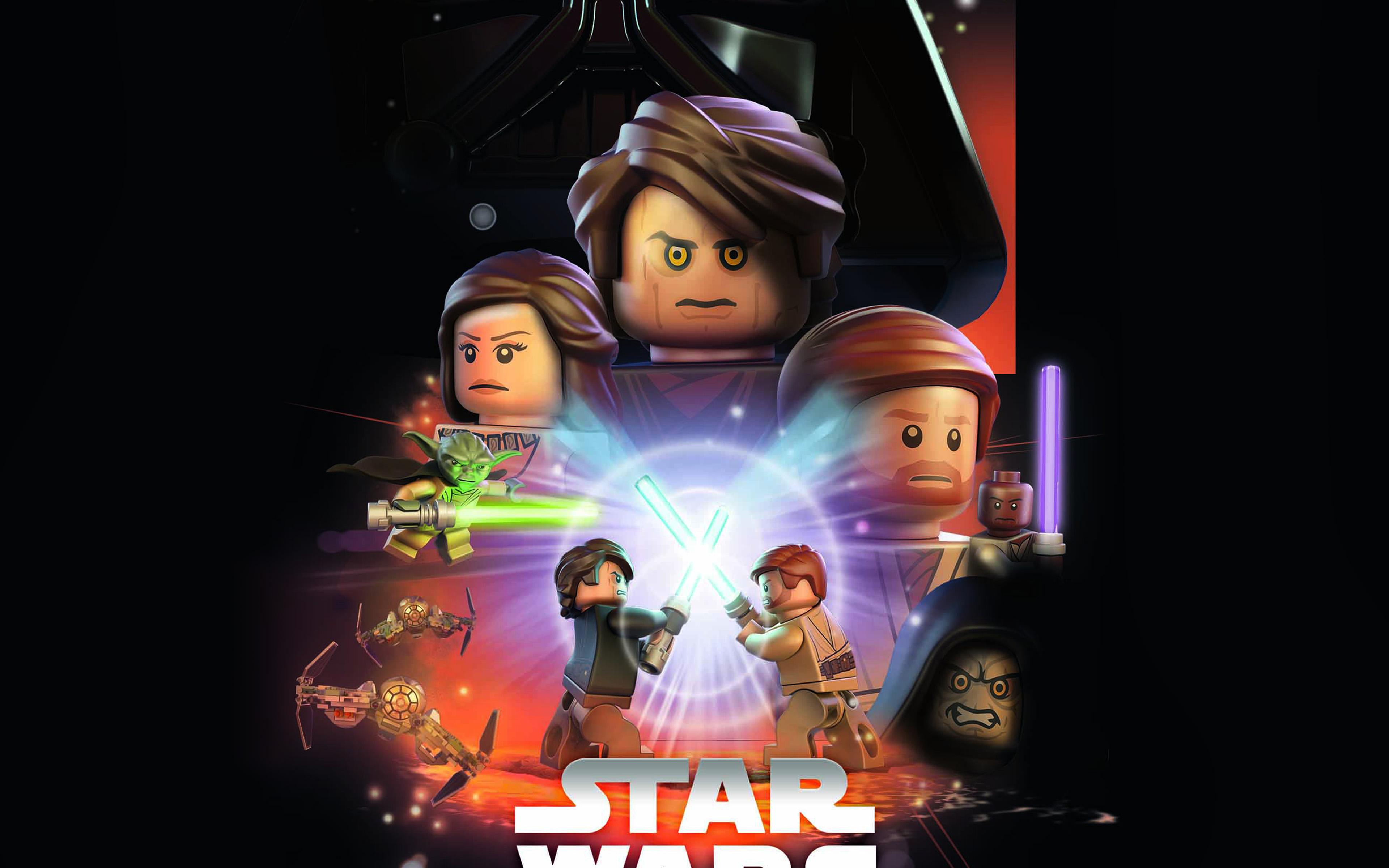 Ap22 Starwars Lego Episode 3 Revenge Of The Sith Art Film Wallpaper