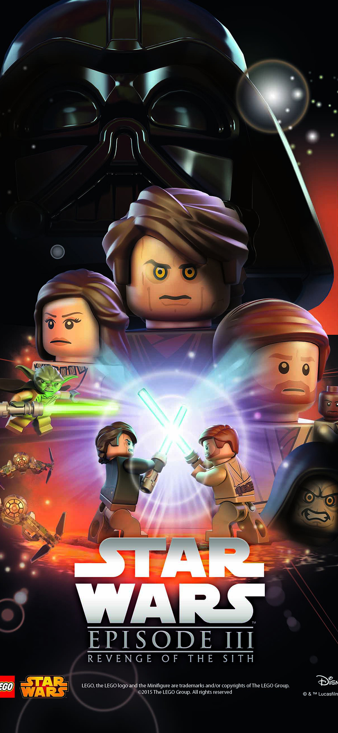 Ap22 Starwars Lego Episode 3 Revenge Of The Sith Art Film