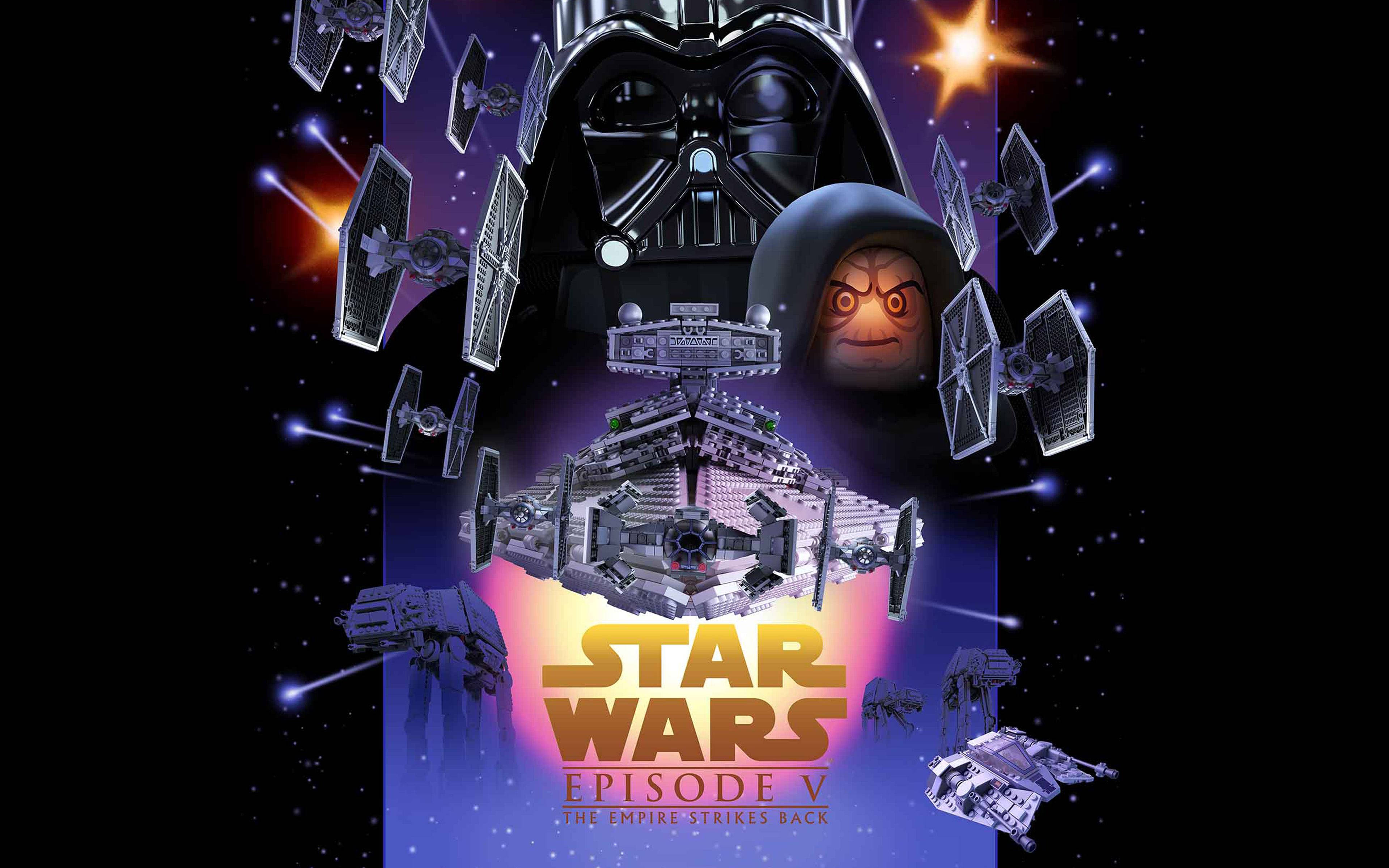 Papersco Desktop Wallpaper Ap23 Starwars Lego Episode 5 Empire