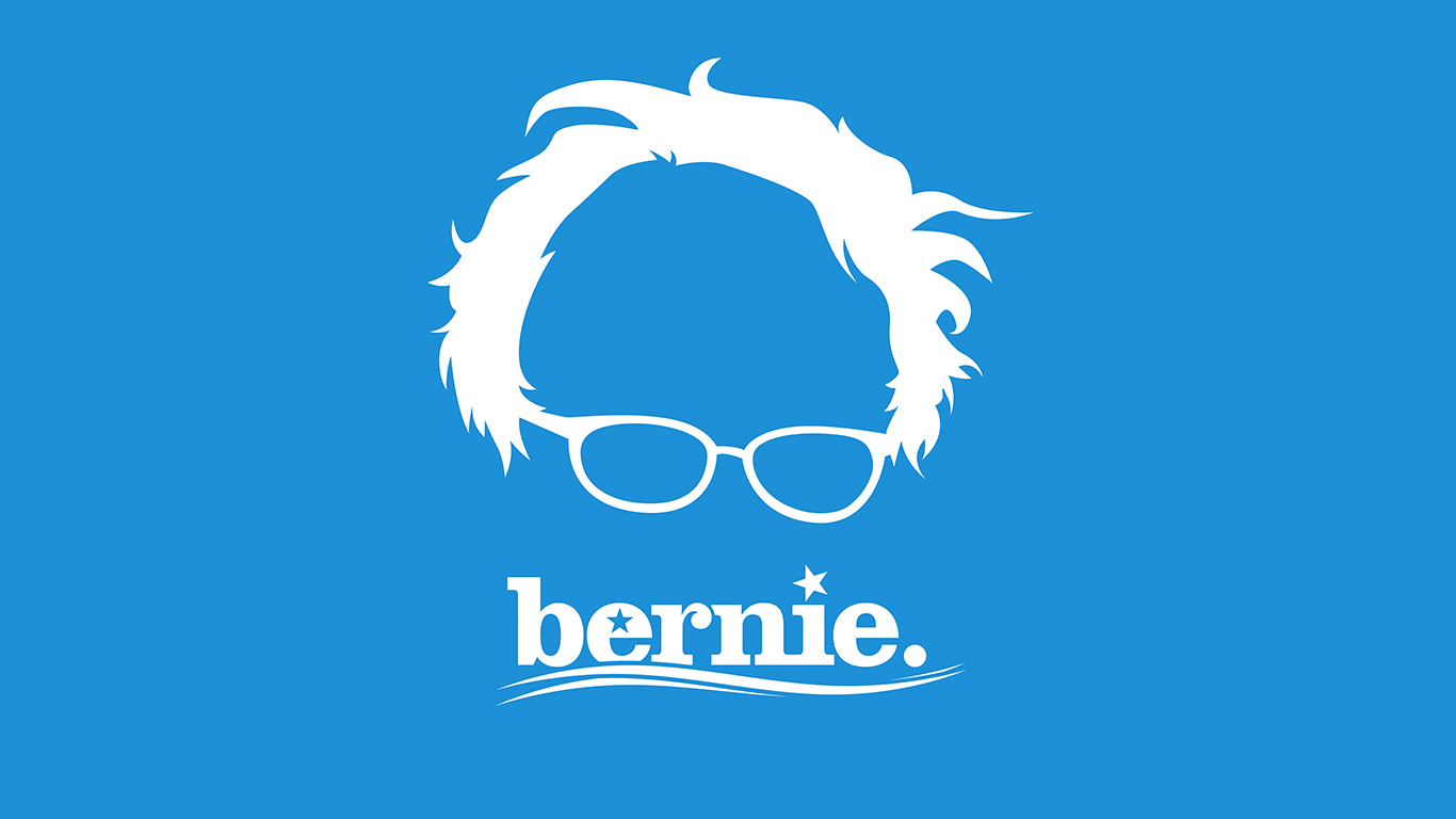 desktop-wallpaper-laptop-mac-macbook-air-ap24-bernie-sanders-poster-blue-art-wallpaper