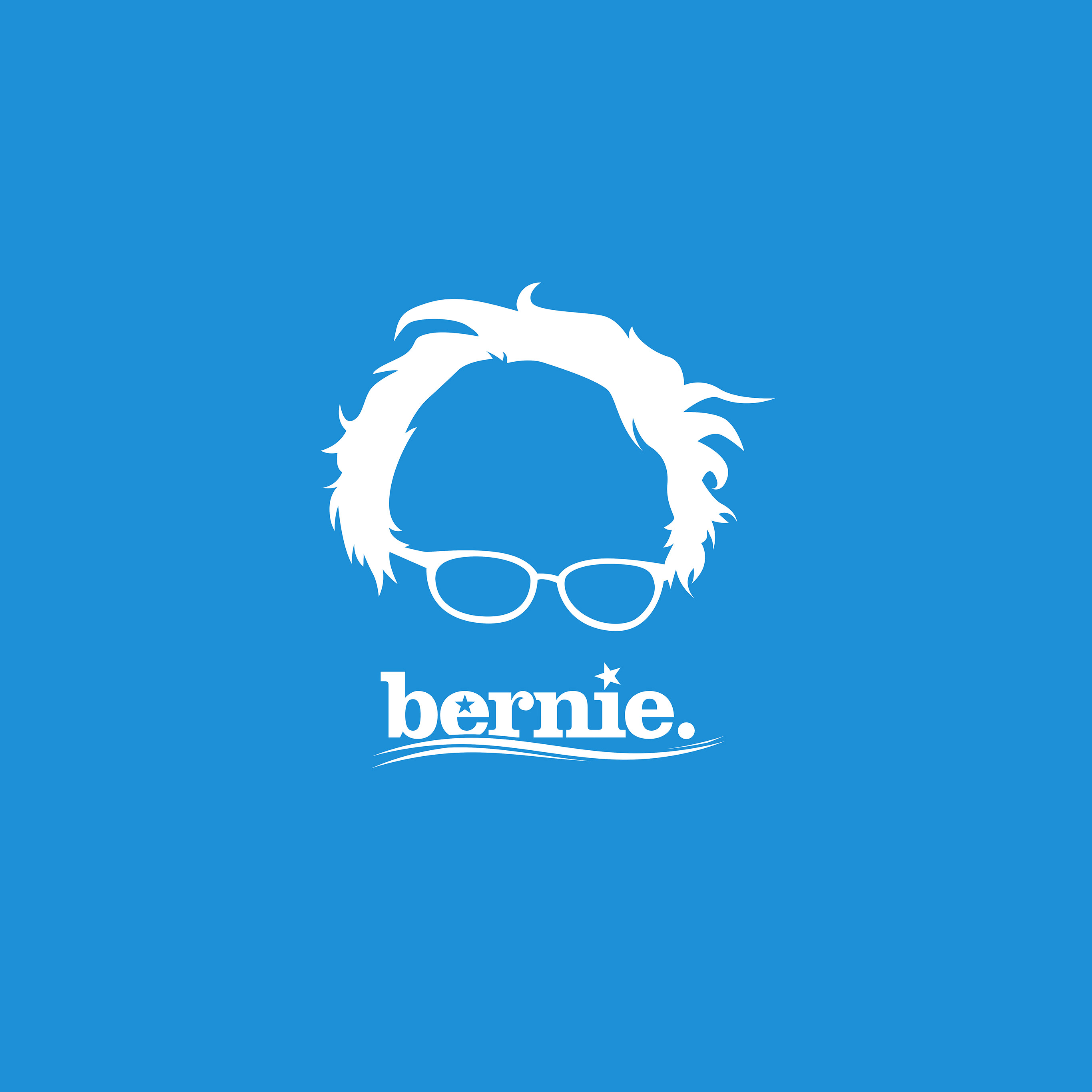 ap24-bernie-sanders-poster-blue-art-wallpaper