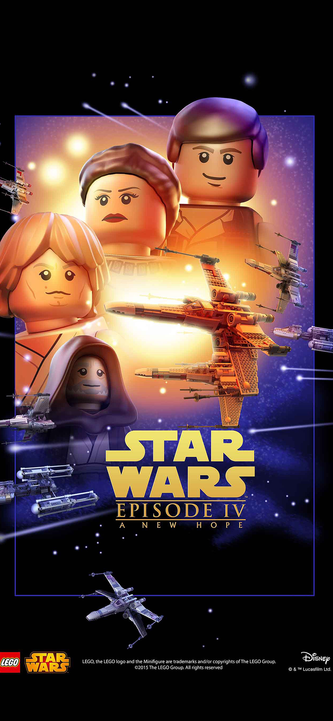 Iphone Wallpaper Star Wars Lego