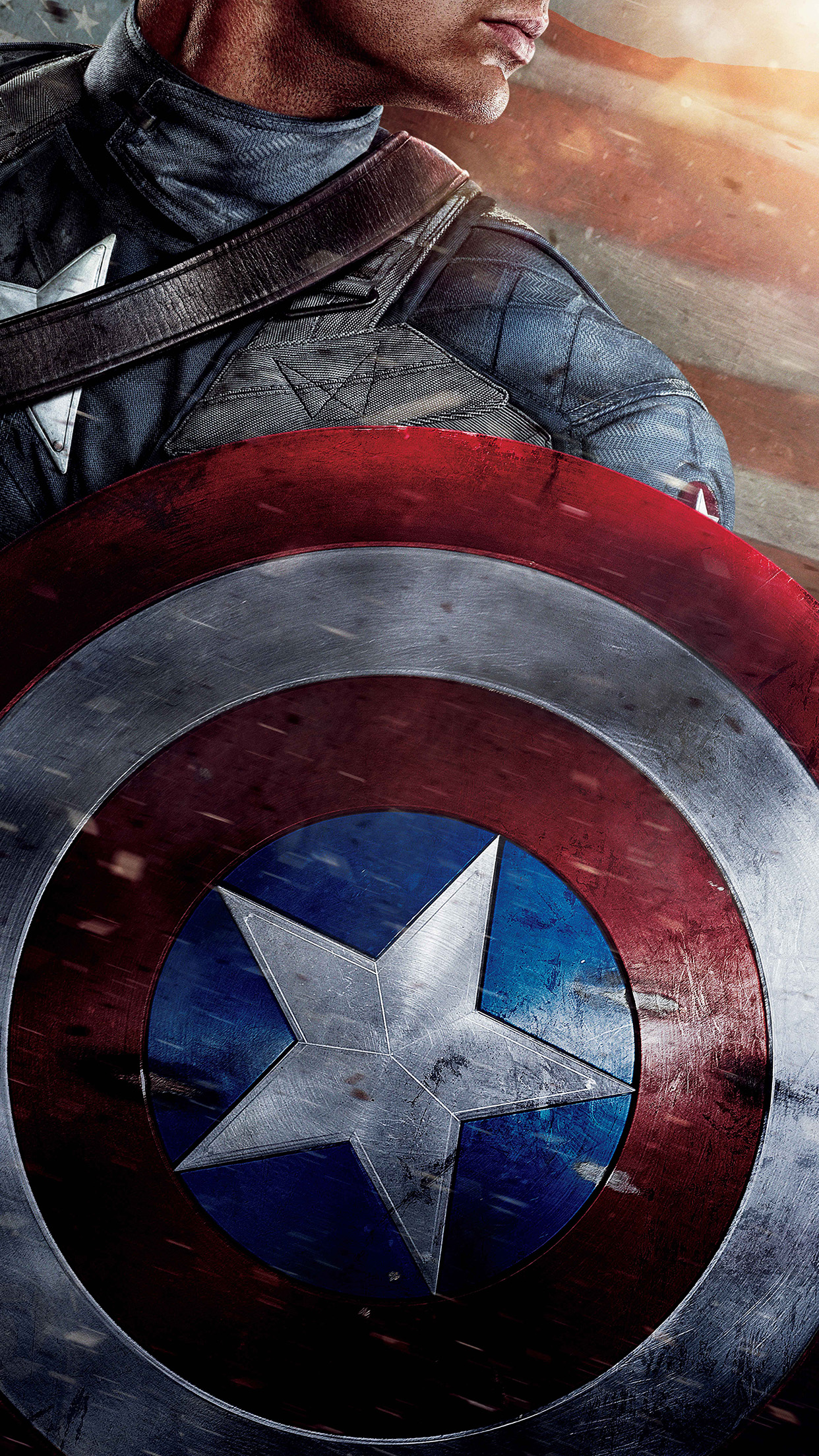 Ap29 Captain America Poster Film Hero Art Wallpaper