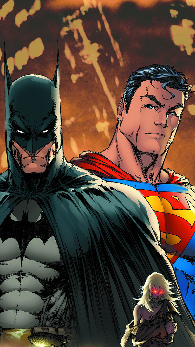 iPhonepapers.com-Apple-iPhone8-wallpaper-ap33-superman-batman-art-illustration-animation