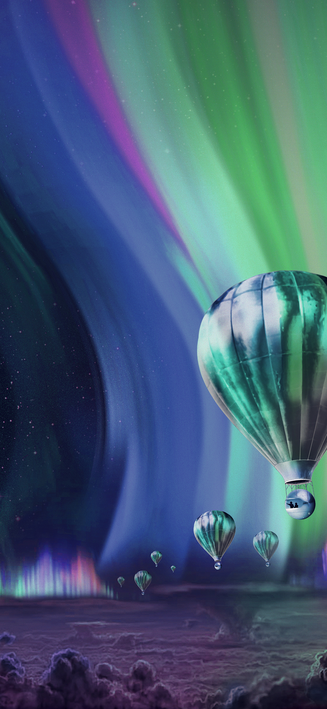Iphonexpapers Com Iphone X Wallpaper Ap38 Jupiter Aurora