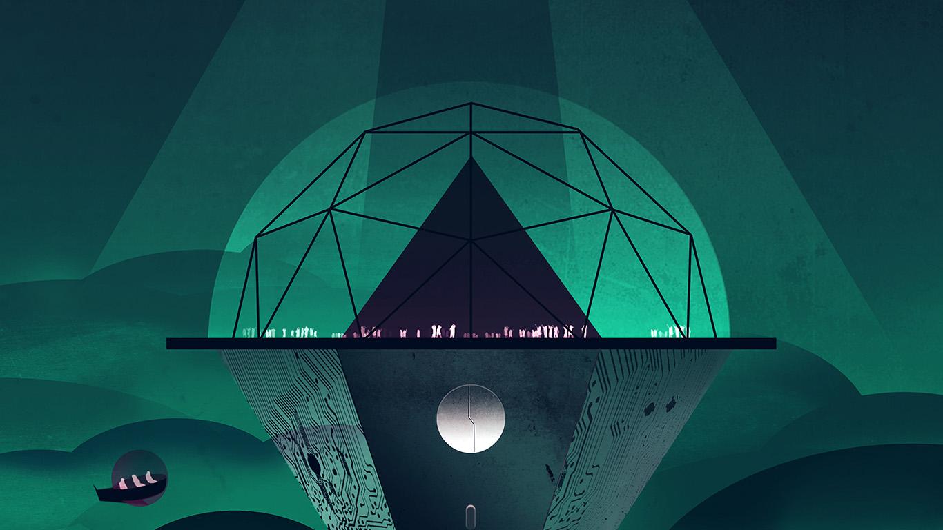 ap43-venus-dark-green-art-illustration ...