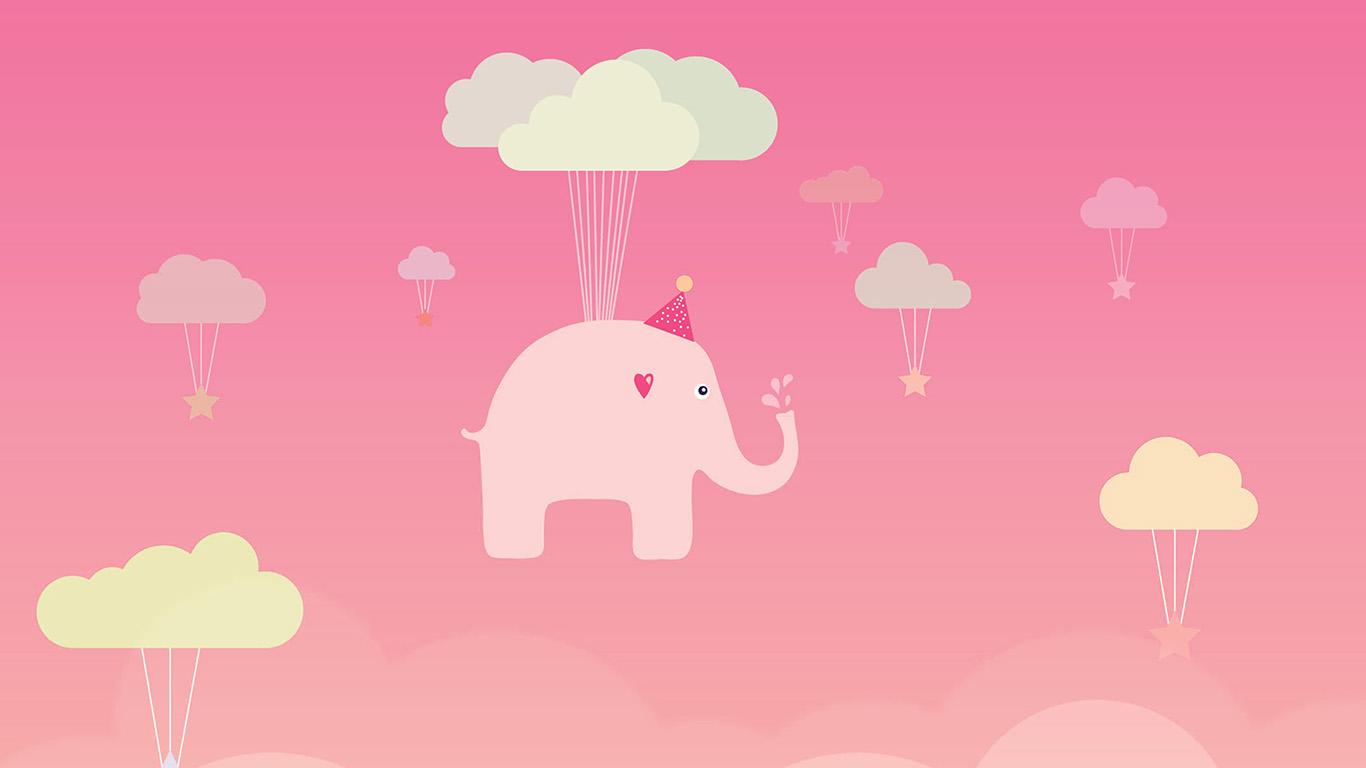 wallpaper-desktop-laptop-mac-macbook-ap45-cute-elephant-illustration-art-orange-fly