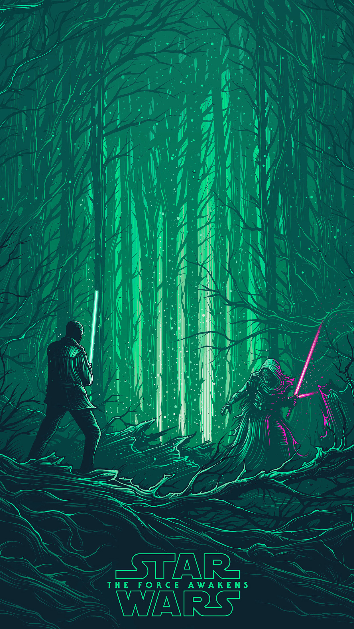Iphonexpapers Com Iphone X Wallpaper Ap47 Starwars Illustration Green Art Film