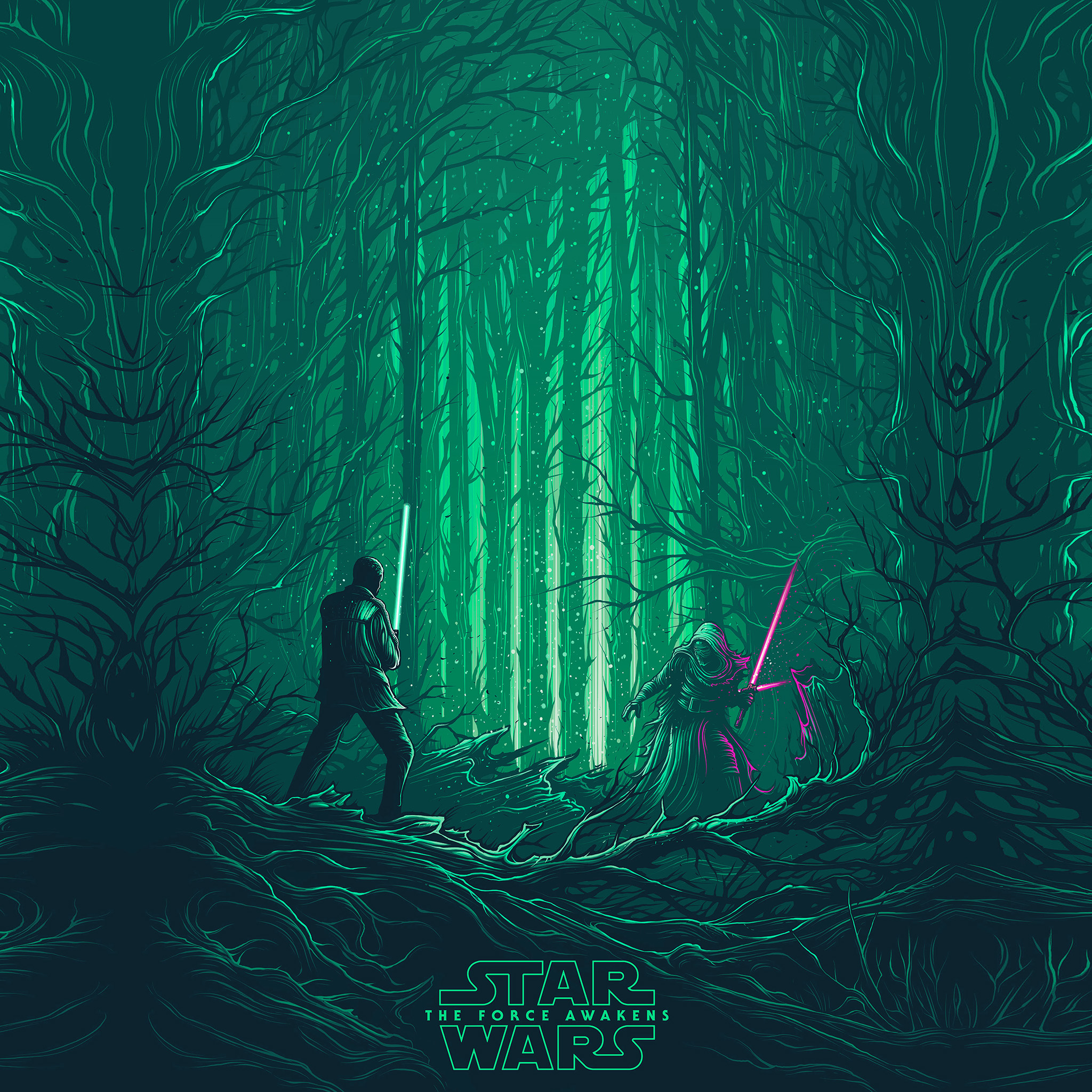 papers.co ap47 starwars illustration green art film 8 wallpaper