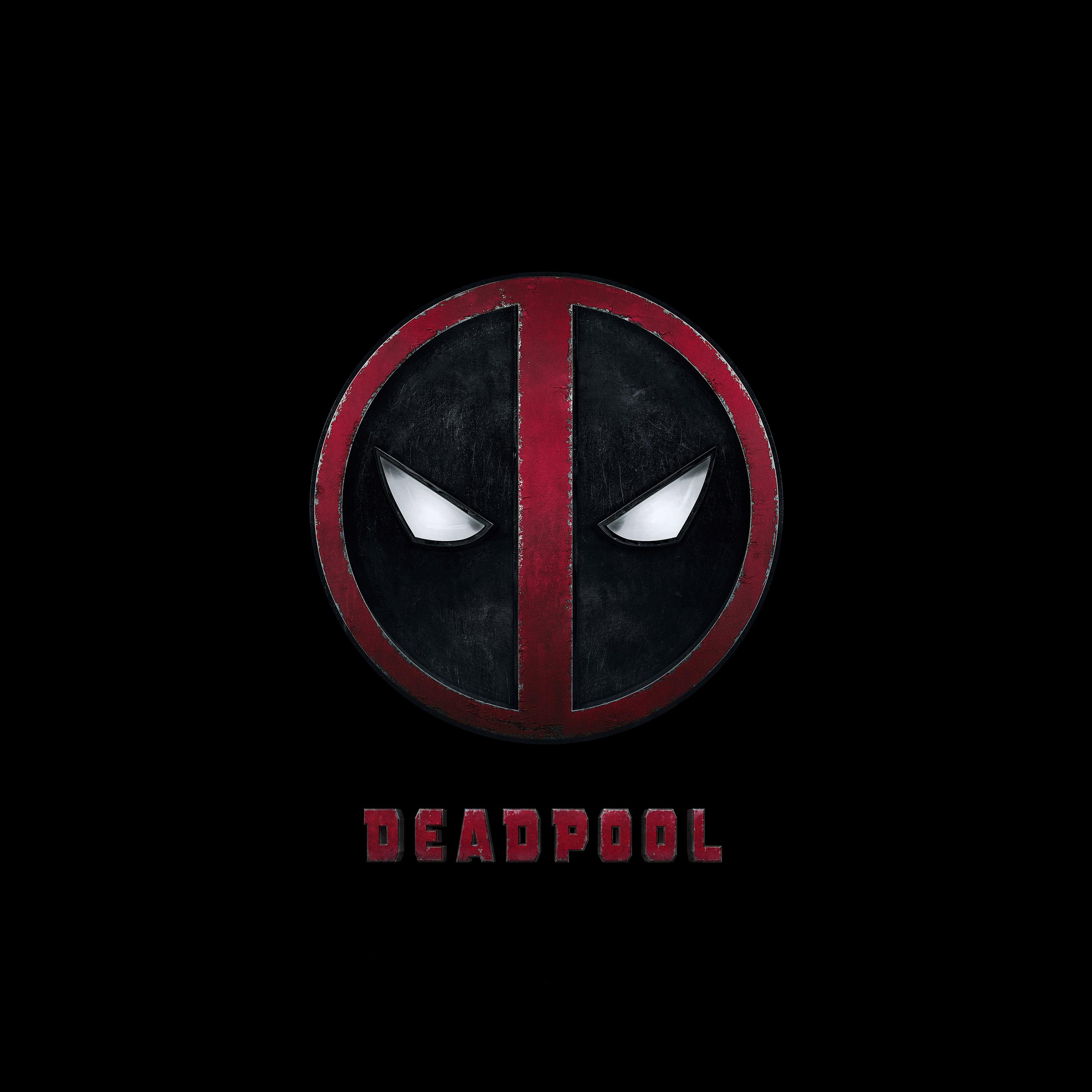Ap49 Deadpool Logo Dark Art Hero Wallpaper