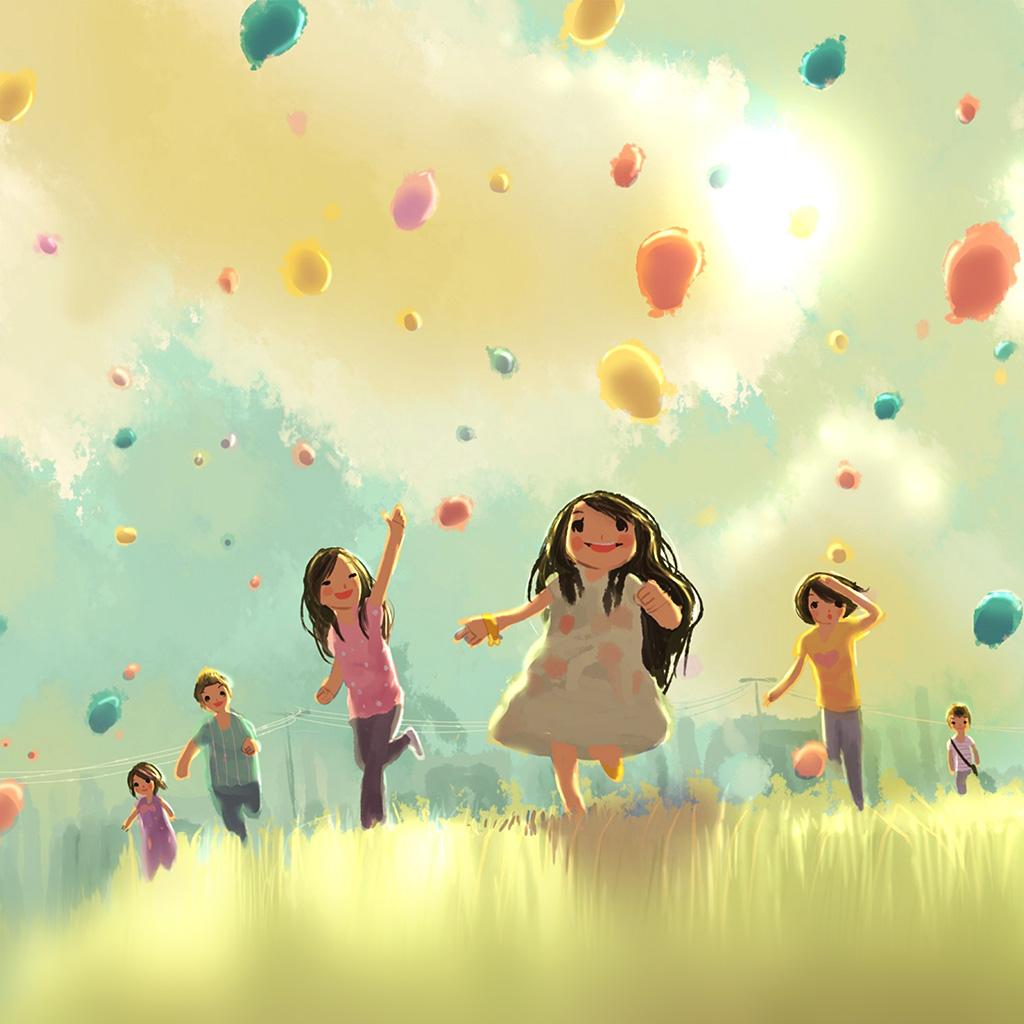 android-wallpaper-ap52-kids-playing-illustration-art-cute-wallpaper