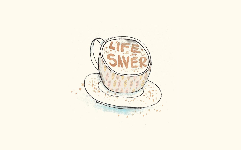 ap56-life-saver-coffee-illustration-cute-wallpaper