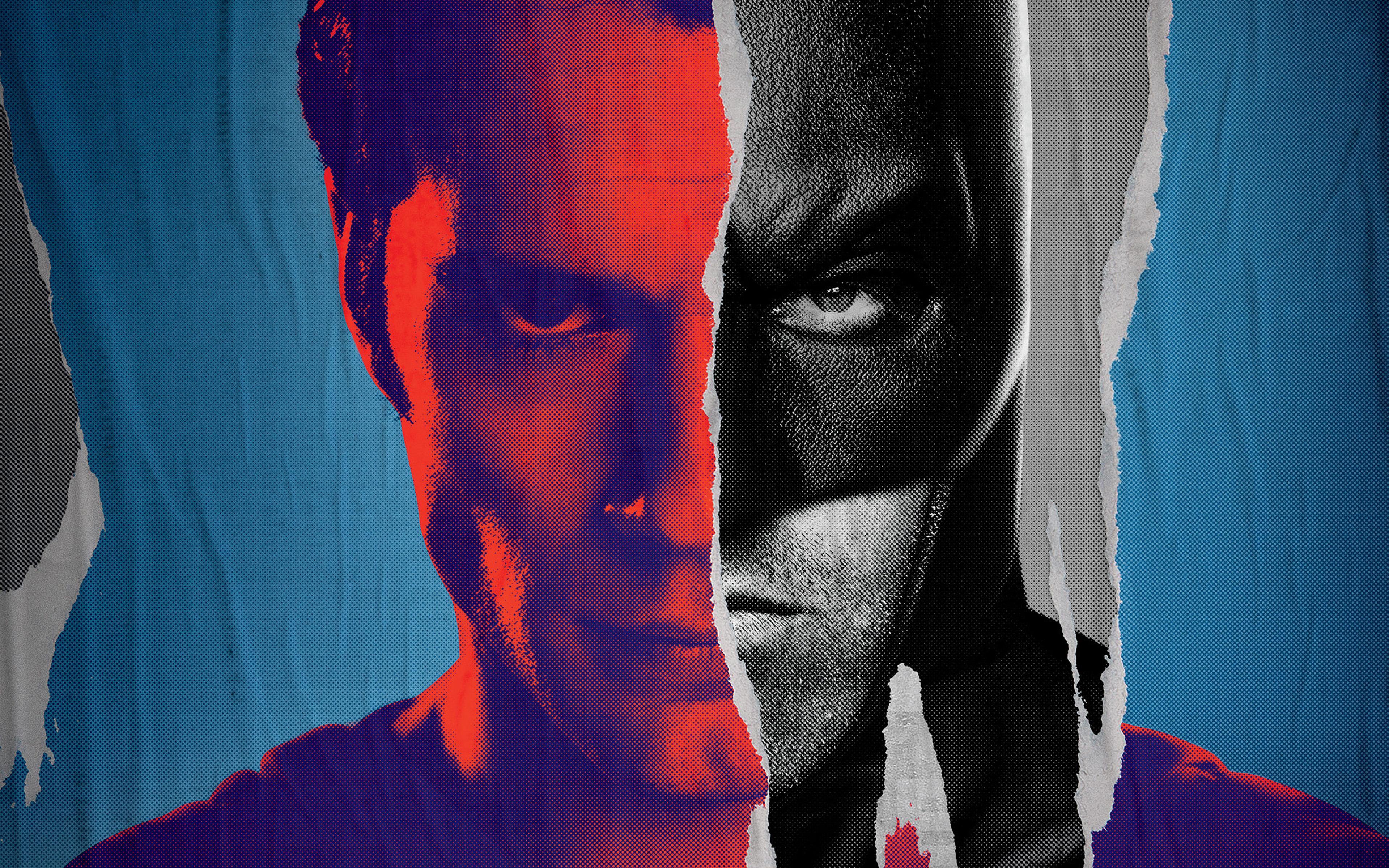 Ap57 Batman Vs Superman Poster Art Film Comics Wallpaper