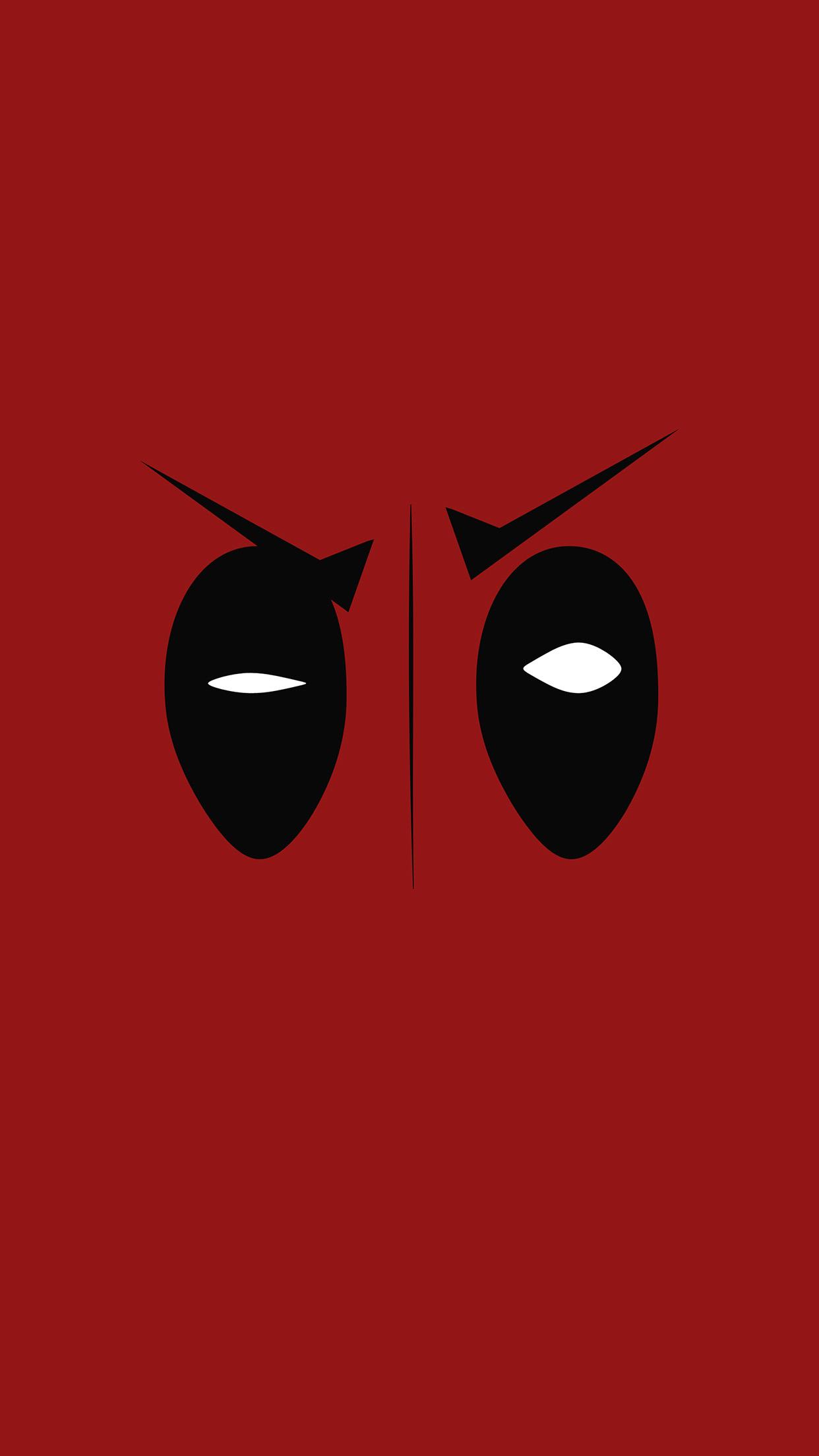 Ap59 Deadpool Hero Eye Logo Art Film