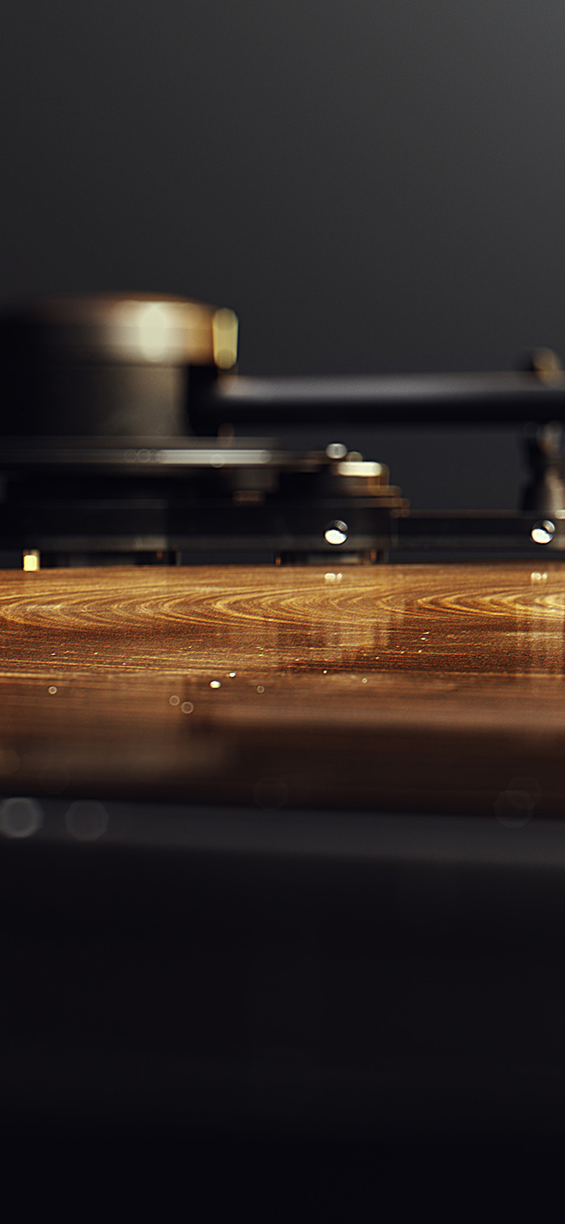 Ipapers Co Ap61 Wood Lp Music Bokeh Art