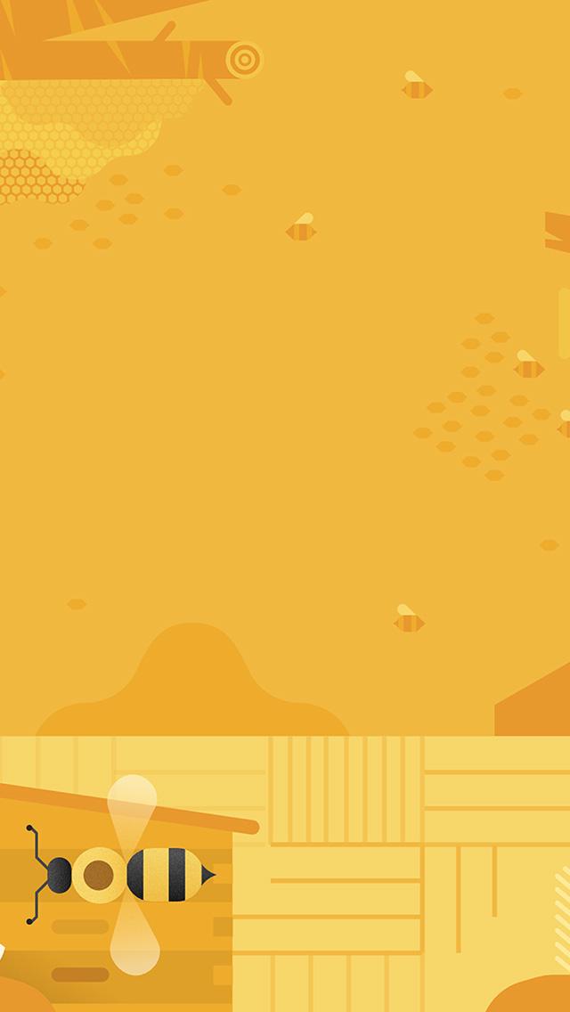 wallpaper iphone yellow cute: IPhone 6