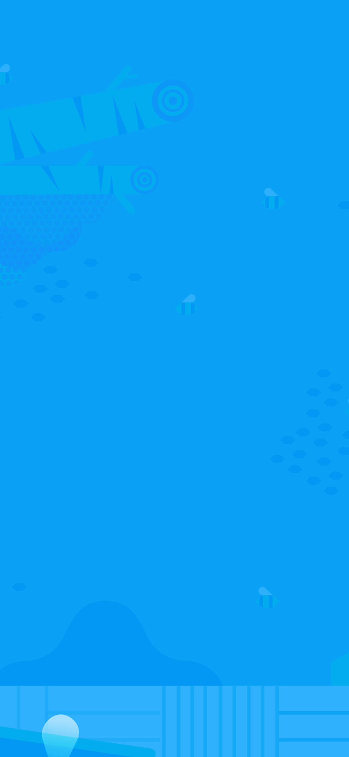 iPhoneXpapers.com-Apple-iPhone-wallpaper-ap64-minimal-honey-blue-art-illustration-cute