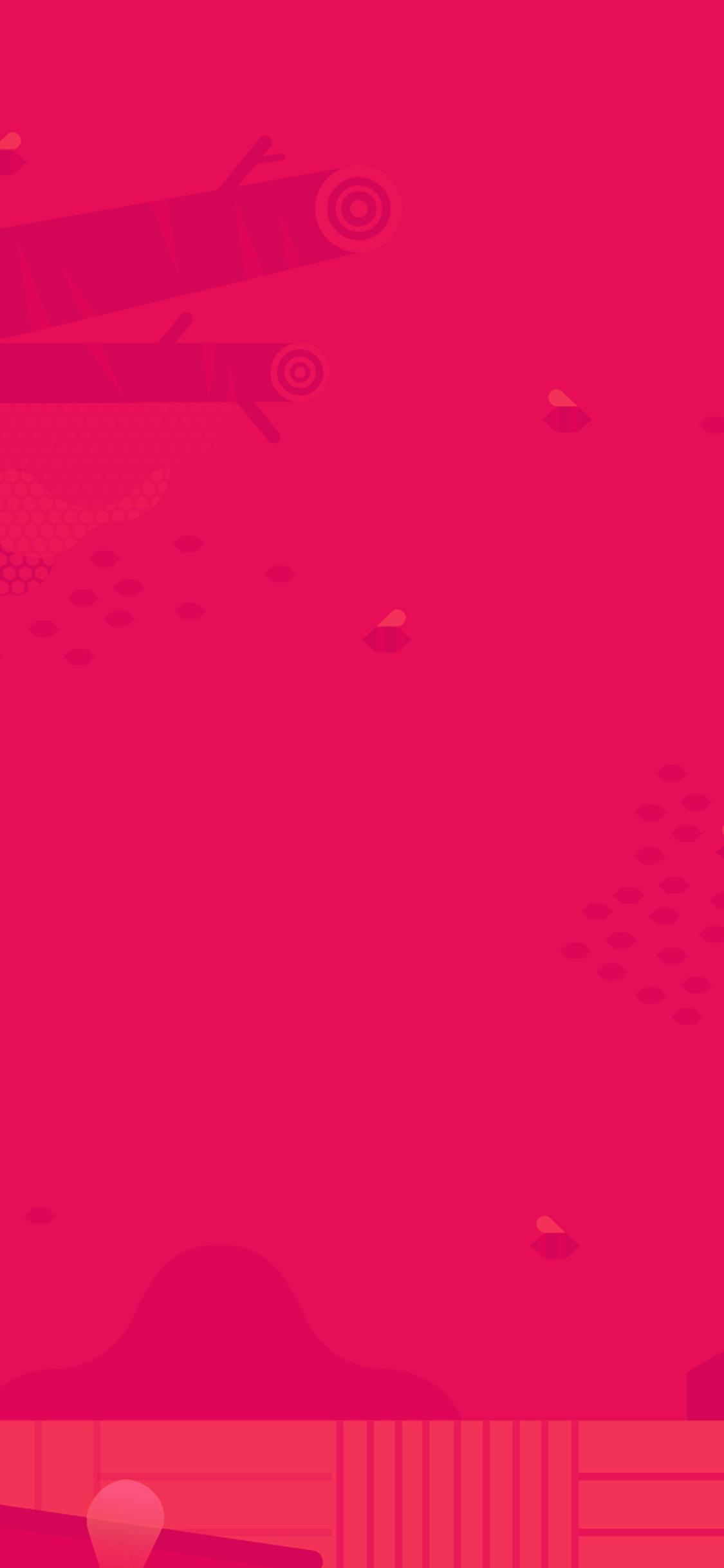 iPhoneXpapers.com-Apple-iPhone-wallpaper-ap65-minimal-honey-pink-red-art-illustration-cute