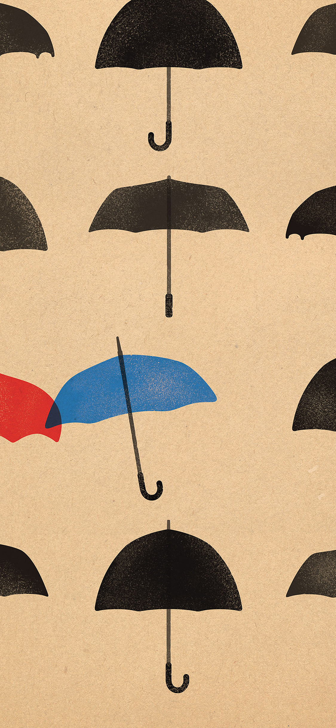 iPhoneXpapers.com-Apple-iPhone-wallpaper-ap66-blue-umbrella-cute-minimal-art-disney
