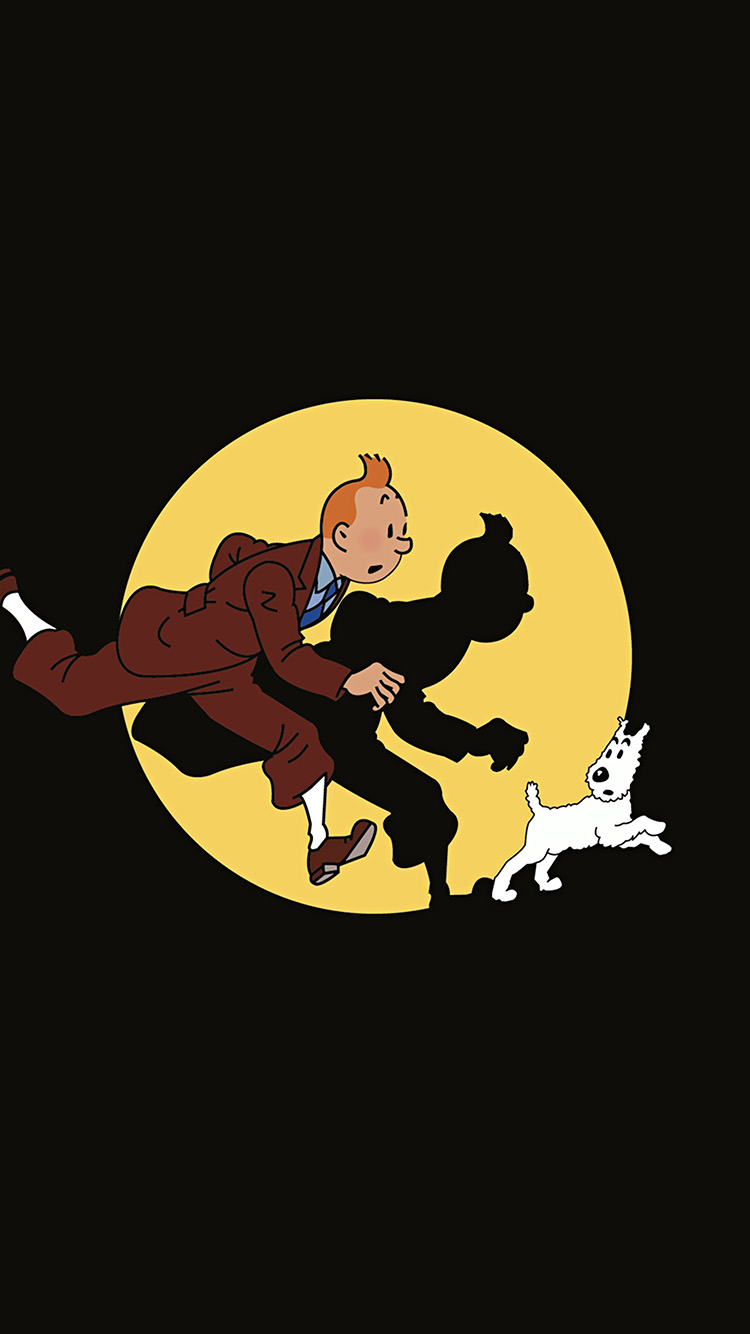 iPhone6papers.co-Apple-iPhone-6-iphone6-plus-wallpaper-ap68-tintin-illustration-art-dark-cute
