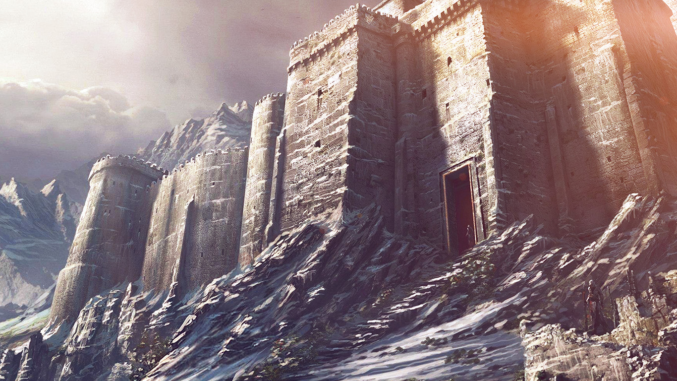 wallpaper-desktop-laptop-mac-macbook-ap87-game-illustration-castle-snow-winter-flare