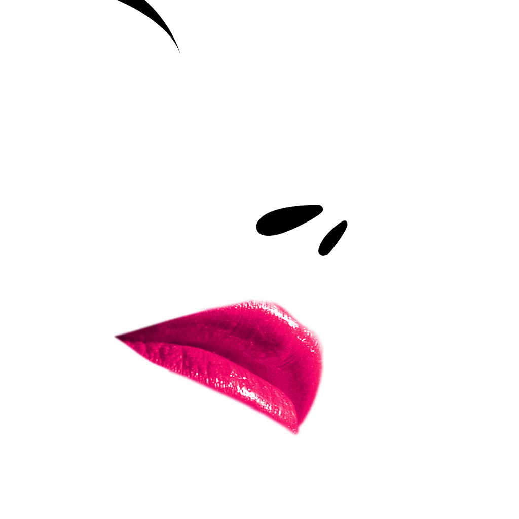 wallpaper-ap89-lips-minimal-white-face-pink-girl-wallpaper