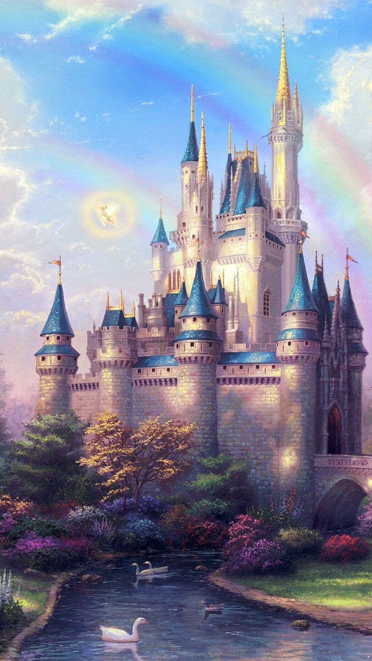 iPhone7papers.com-Apple-iPhone7-iphone7plus-wallpaper-ap98-fantasy-castle-illustration-cute-disney