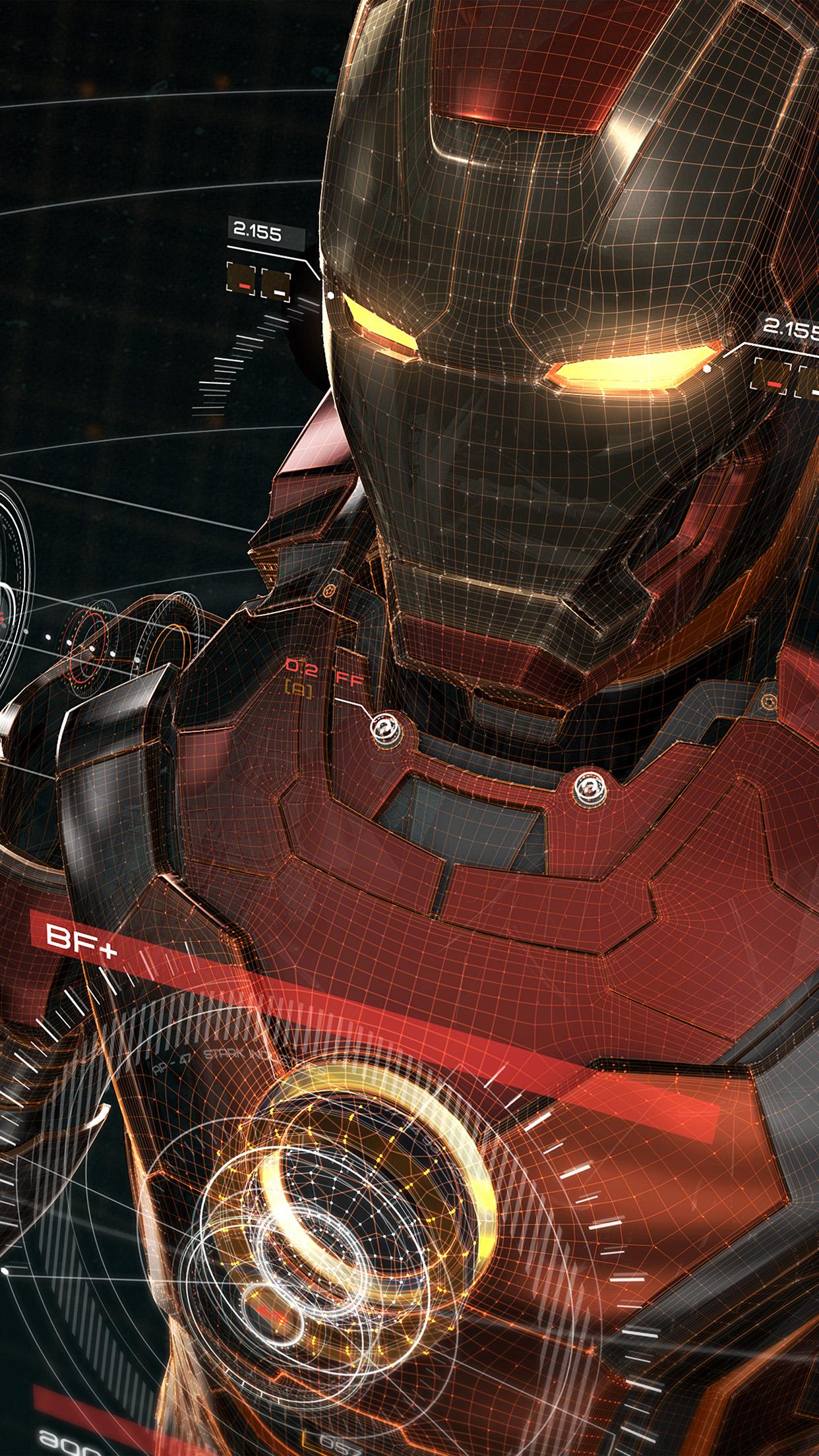 aq05-ironman-3d-red-game-avengers-art-illustration-hero ...